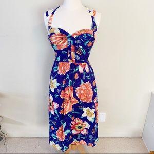Anthro Moulinette Soeurs Anonna Floral Midi Dress